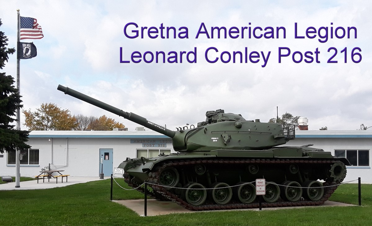 & Gretna American Legion Post 216